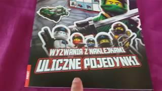 LEGO NINJAGO 500 NAKLEJEK I WYZWANIA Z NOWEGO SEZONU!