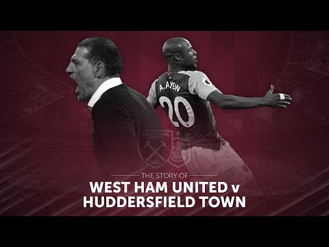 The story of West Ham United vs Huddersfield Town… goals from Andre Ayew, Pedro Obiang ⚒