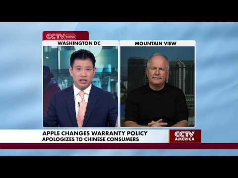 Rob Enderle Discusses Apple's Apology Over Chinese Warranty