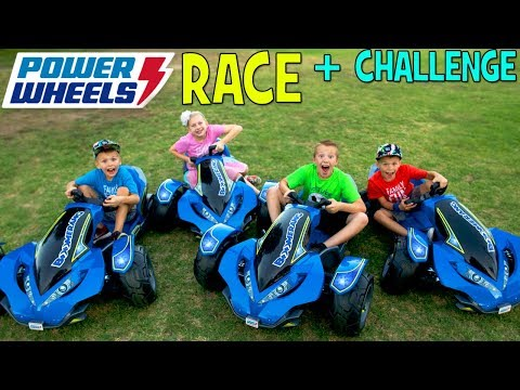 Power Wheels Boomerang Challenge!