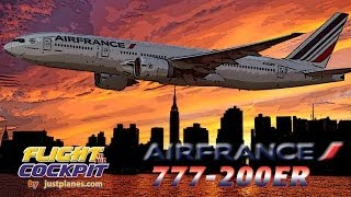 Air France 777-200ER to JFK!