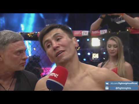 Слова Венера Галиева после боя с Диего Брандао на турнире FIGHT NIGHTS GLOBAL 67.