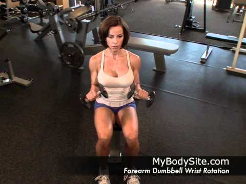 Online Personal Training - Forearms - Dumbbell Wrist Rotation