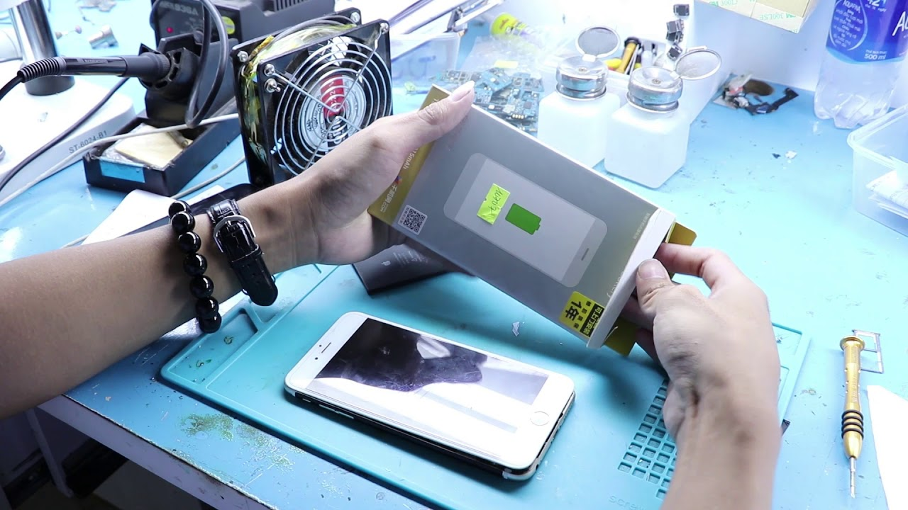 Thay pin iPhone 6 Plus – pin PISEN [ chất lượng đỉnh] tại HCM, Hà Nội
