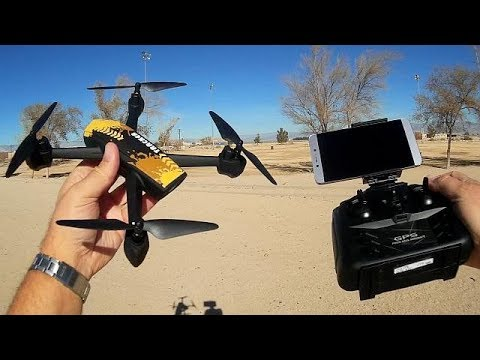JXD 518 Beginners GPS HD Camera FPV Quadcopter Flight Test Review
