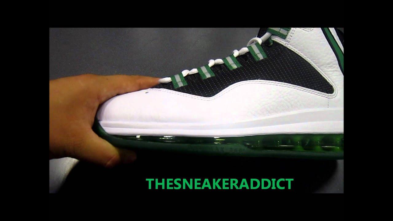 big sale 22215 95e6e ... wholesale my 2012 nike air max darwin hoh celtics quickstrike sneaker  review youtube a31db ec0f9