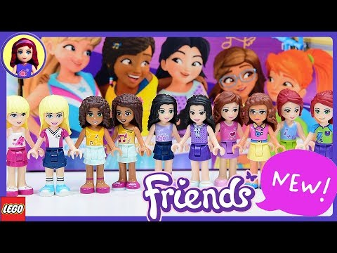 New Look for Lego Friends Minidolls 2018 Makeover - What's New?