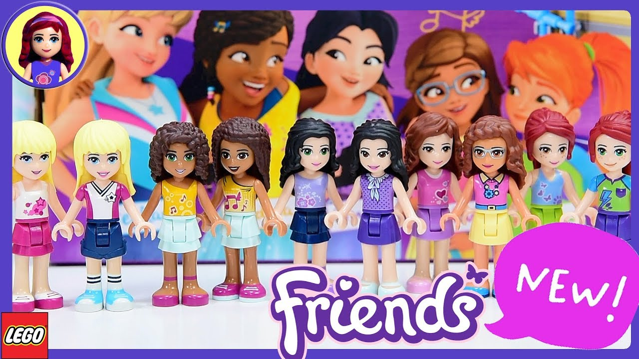 New Look For Lego Friends Minidolls 2018 Makeover Whats New