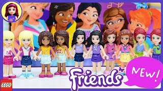 New Look for Lego Friends Minidolls 2018 Makeover - What