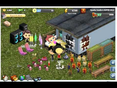 (Yoville)How to get all Hairs