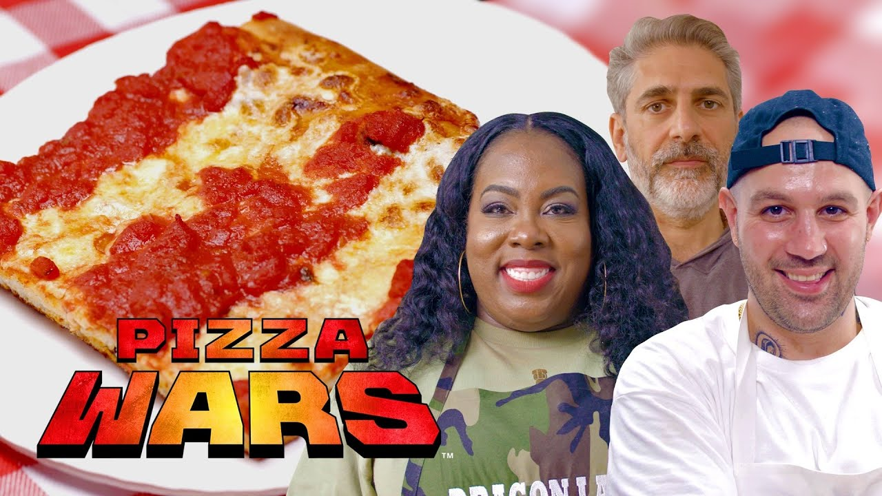 The Perfect New York Slice with Frank Pinello and Michael Imperioli   Pizza Wars