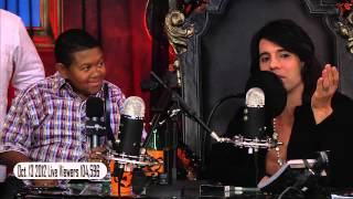 Emmanuel Lewis talking about Michael Jackson to Criss Angel 10/13/12