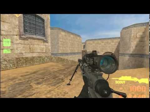 CoD Mod For CS 1.6 - Iron Sights