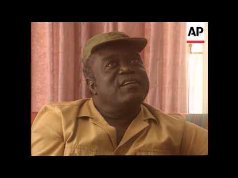 Zaire - Kabila on international food drops