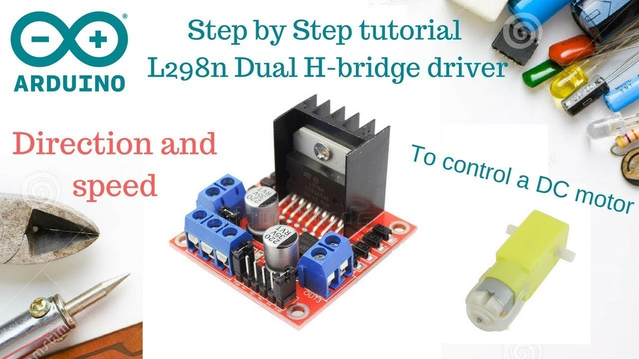 How to Use L298n to Control Dc Motor With Arduino