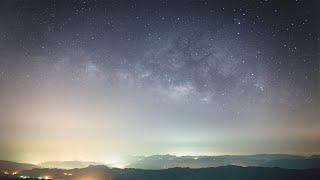 Milky Way Timelapse in Taiwan 台灣銀河縮時攝影 HD (五分山, 不厭亭, 東澳灣, 南澳溪)