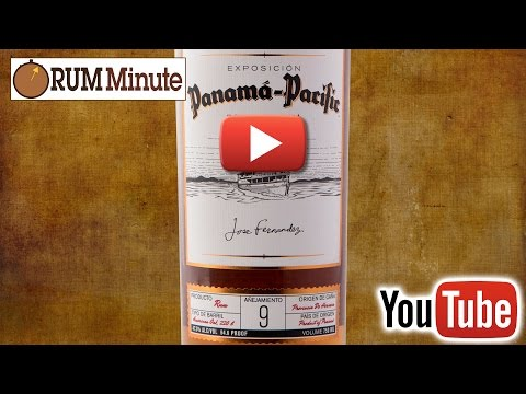 Panama Pacific 9 aged rum from Panama