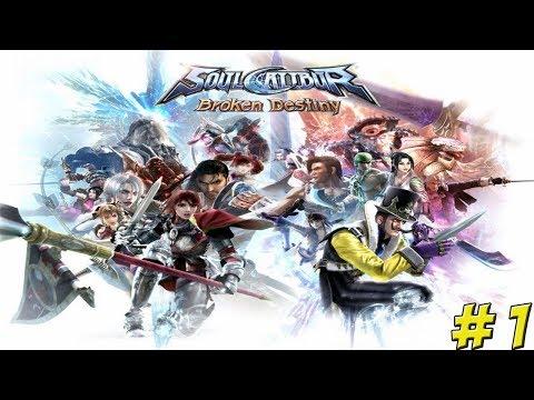 Soul Calibur: Broken Destiny! Part 1 - YoVideogames