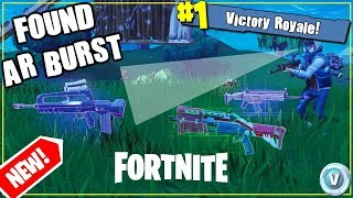FOUND NEW Burst Assault Rifle / GiveAway at 3k subs / Fortnite