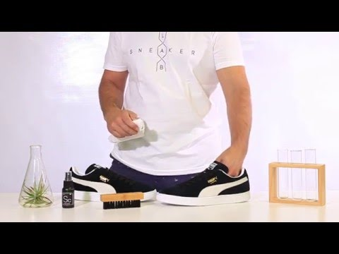 How To Clean Puma Suede Sneakers with Sneaker LAB Sneaker Cleaner | Premium Shoe Cleaner