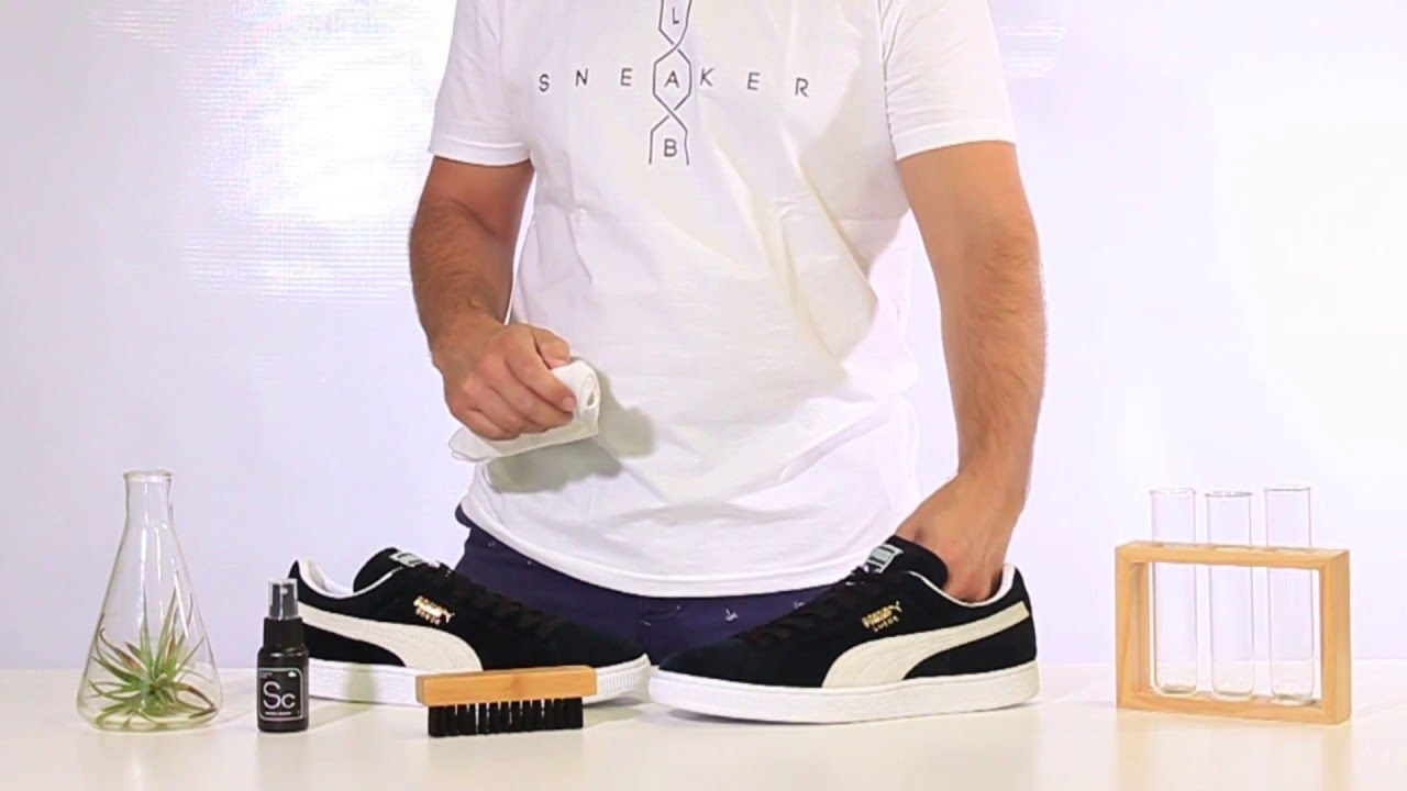 0b45667662d How To Clean Puma Suede Sneakers with Sneaker LAB Sneaker Cleaner ...