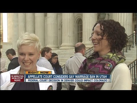Appellate court considers Utah's gay marriage ban
