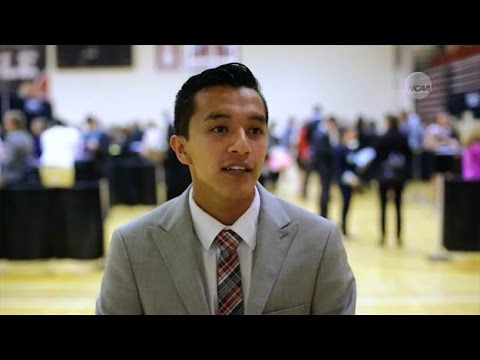 Michael Munoz on being a college athlete
