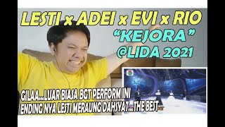 Download Lesti DA x Adei (Malut) x Evi (Kaltim) x Rio (Sumbar) - KEJORA ❗ @ LIDA 2021 ❗ REACTION!