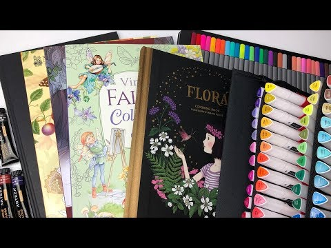New Coloring Books And Art Supplies September 2019