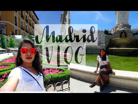 Madrid (Spain) Vlog Part 2 | Royal Palace of Madrid, Market of San Miguel | Thuri Makeup