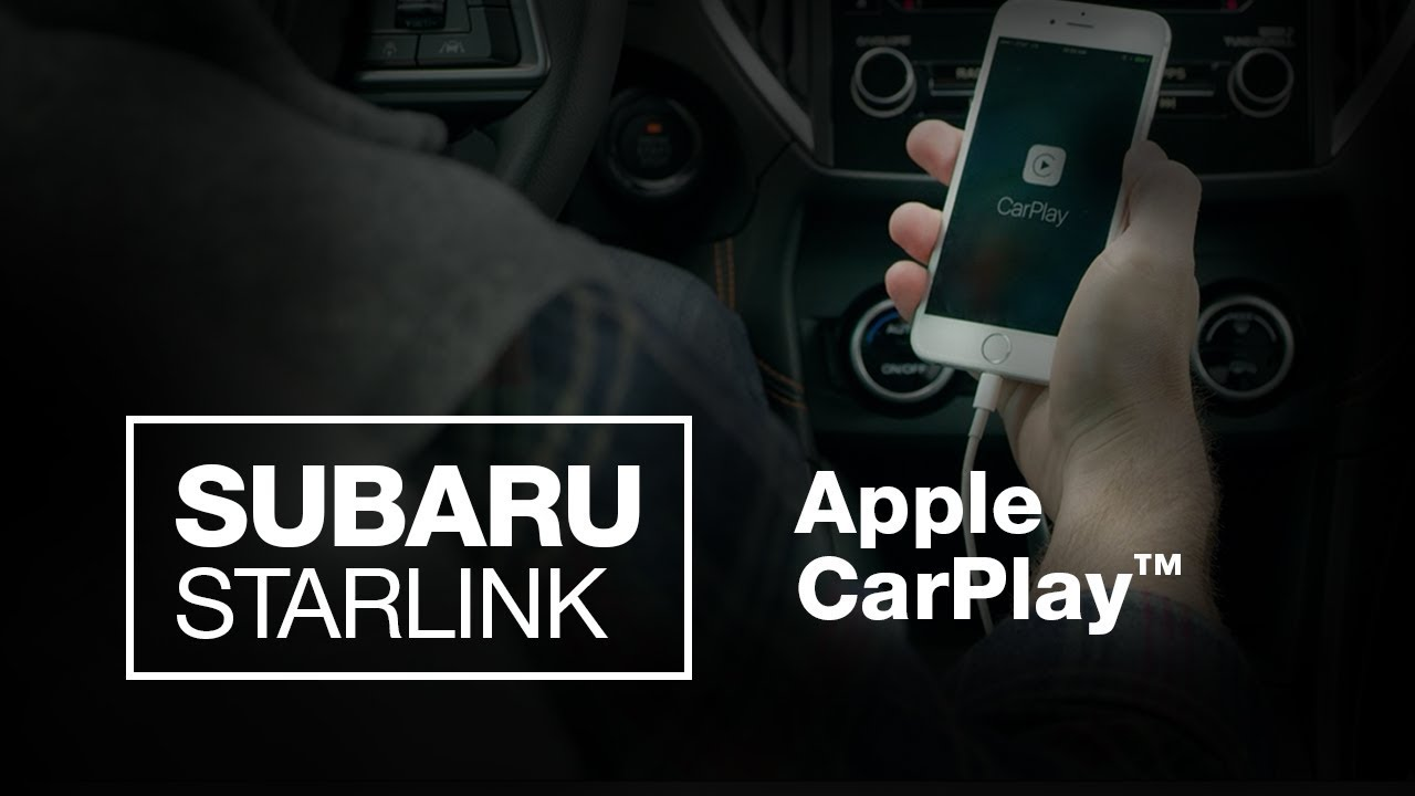 SUBARU STARLINK: Apple CarPlay (2018 Updated)