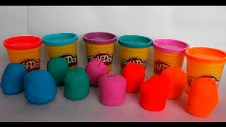 10 Surprise Eggs Playdough Smurfs Disney Toys Animals Poland Ring Play doh Huevo sorpresa