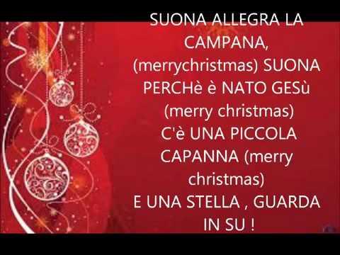 Canzone Di Natale Buon Natale.Canzone Di Natale 2015 Merry Christmas Buon Natale A Te Youtube