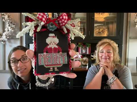 Flosstube #156:Priscilla & ChelseaThe Real Housewives of Cross Stitch