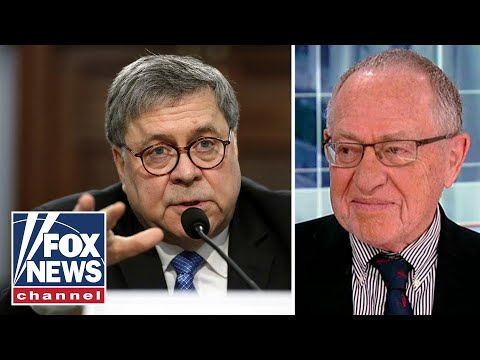 Dershowitz: One key detail in Mueller report Barr should reveal
