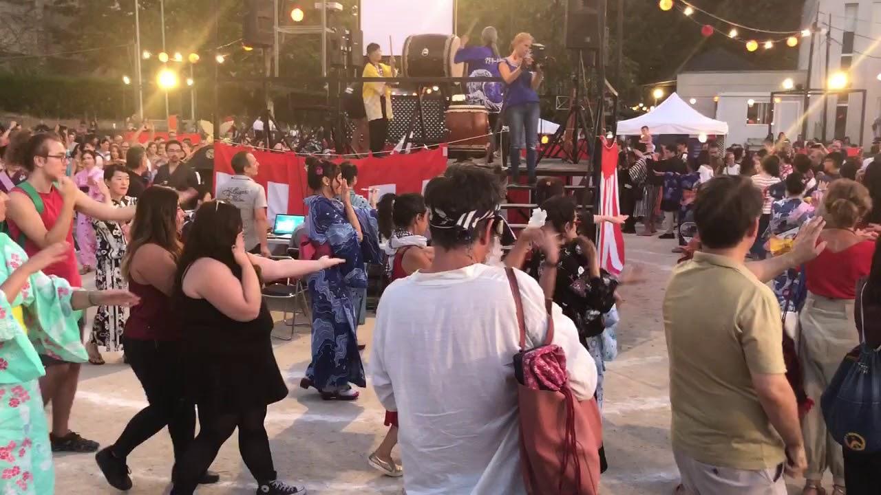 Odori En Japonko Japonesas Bon Madrid 2018Danzas Tradicionales ulT1J5FcK3