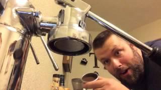 Pulling a Shot of Espresso on the La Pavoni Europiccola - Espresso Breve