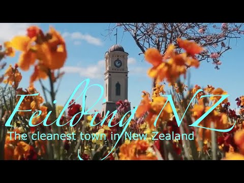 Feilding- The cleanest town in New Zealand