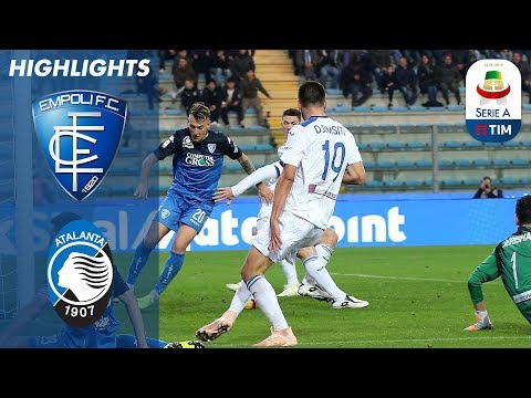 Empoli 3 - 2 Atalanta | Empoli Beat Ten Man Atalanta | Serie A