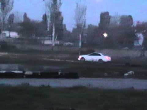 с63 AMG Test On Karting
