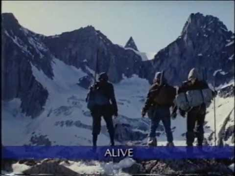 Alive (1993) VHS film trailer