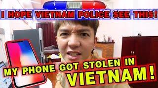 在越南被偷搶iPhone 專業犯罪集團真實紀錄,我希望越南警察會看到這只影片!