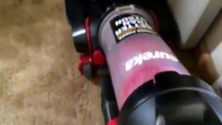 Eureka Airspeed Exact Pet vacuum demonstration