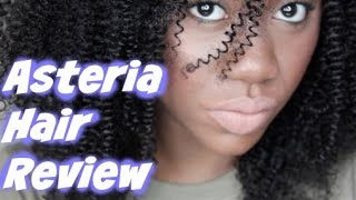 Asteria Hair Review | Peruvian Kinky Curly Hair | Shanese Danae