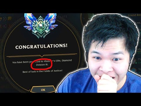 WAIT DID I JUST SKIP TO DIAMOND 3 FROM DIAMOND 5..?  - Challenger to RANK 1