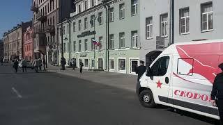 1 05 2019 Санкт Петербург Первомай явление почетного караула полиции время около 10 утра