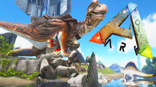 Ark Survival Evolved Mods - TITAN RAPTOR! Alpha Spino! - Dino Overhaul Mod EP2 1080pHD