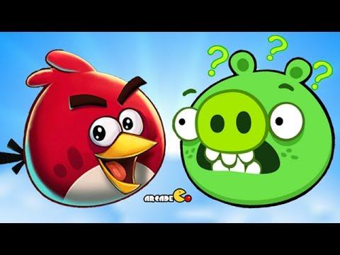 HULK vs. Angry Birds Bad Piggies ♫ 3D animated game ...
