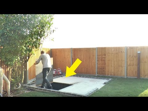 This Guy Built Under His Own Backyard Will Make You Seriously Jealous