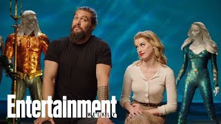 Jason Momoa On Challenges Of His 'Aquaman' Costume When He 'Has The Poops' | Entertainment Weekly